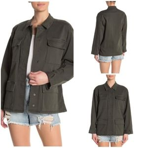 NEW The Good American Utility Jacket